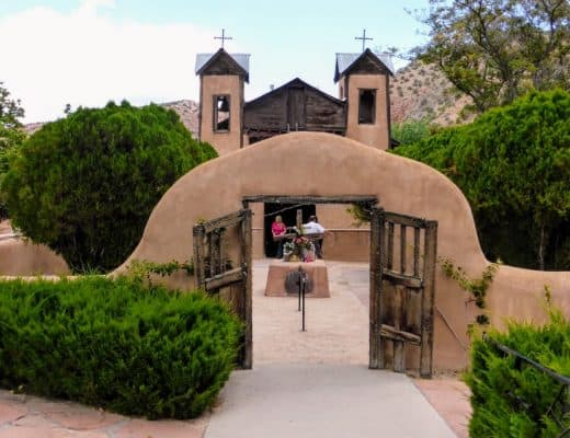 Getting Holy Dirt at El Santuario de Chimayo