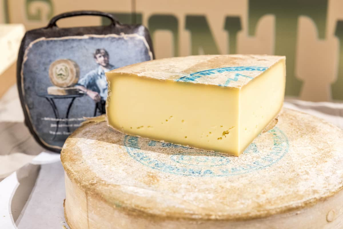 DOP Fontina Cheese from the Aosta Valley