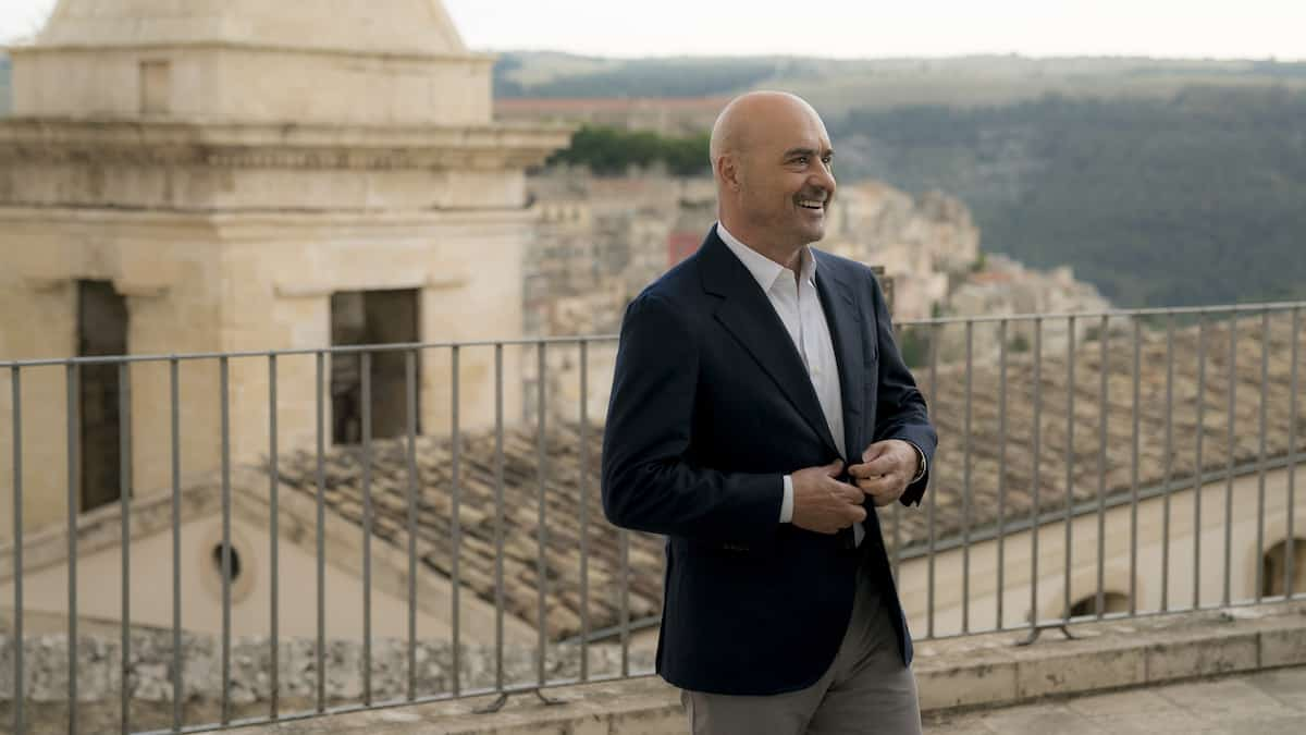 Luca Zingaretti as Detective Montalbano (credit: MHz Choice) a