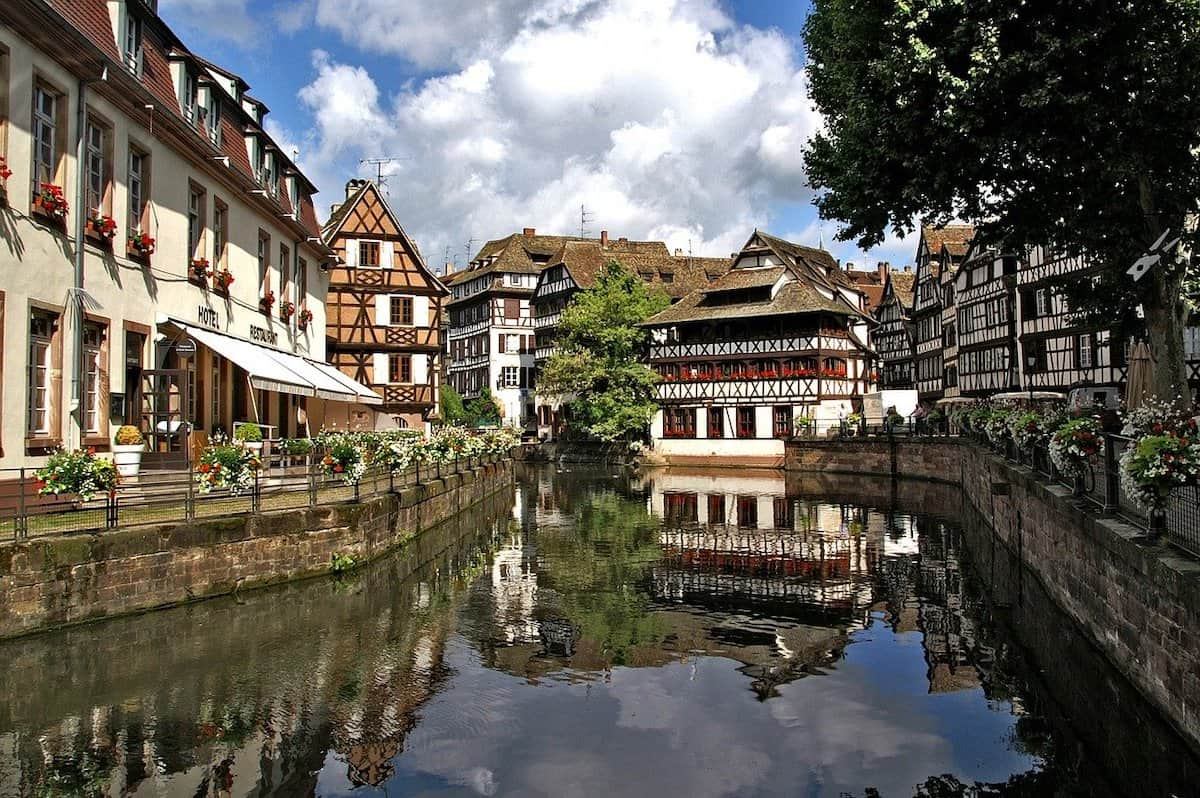 Strasbourg is beautiful from every vantage point
