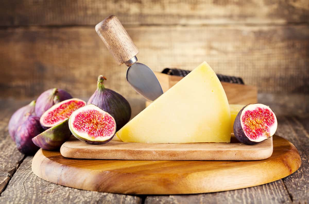 Northern Italian Cheeses with Fresh FIgs